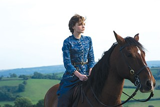 Out and about: Bathsheba Everdene (Carey Mulligan)