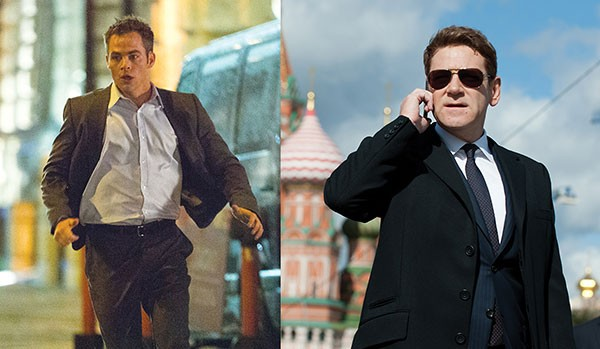Outwit, outlast, outplay: Jack Ryan (Chris Pine) and Viktor Cherevin (Kenneth Branagh)