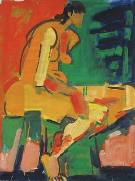 Painting. Galerie Werner. - ART BY ALEXANDER MINEWSKI