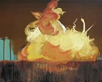 paintings by Fabrizio Gerbino