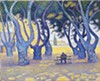 """Paul Signac's oil-on-canvas painting """"Place des Lices, St. Tropez"""" (1893)"""
