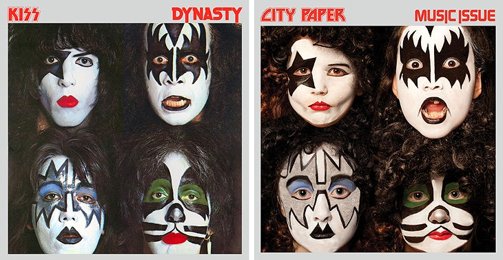 City Paper Music Issue Four Covers