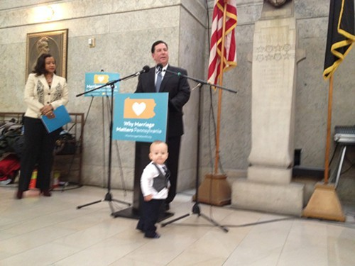 Peduto upstaged by ACLU plaintiffs son