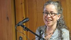 PennFuture spokesperson Elaine Labalme - PHOTO BY BILL O'DRISCOLL
