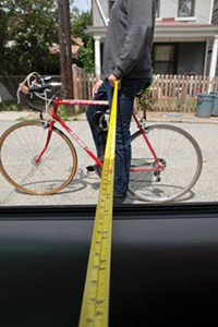 Pennsylvania law mandates that drivers give cyclists a 4-foot buffer when passing
