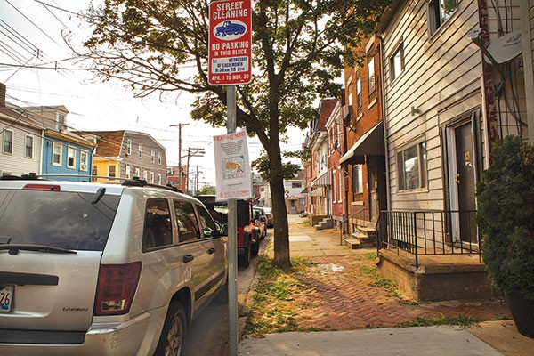 Permit parking could reduce congestion for residents on this section of Jane Street, in the South Side.