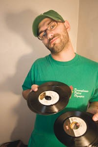 Personal sound system: Dan Dabber - PHOTO: HEATHER MULL