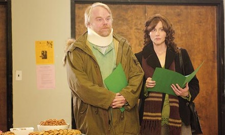 Philip Seymour Hoffman and Laura Linney portray two Savage siblings.