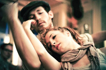 Pillow Project dancers Brent Luebbert and Kaylin Horgan. - PHOTO BY CASSIE KAY PHOTOGRAPHY.