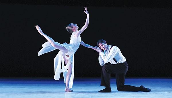 "Pittsburgh Ballet Theatre performs Julia Adams' ""Ketubah."""