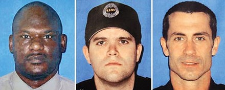 Pittsburgh City Police Officers Eric Kelly, Stephen Mayhle and Paul Sciullo III were gunned down in April.