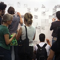 he public collaborates on an installation in <i>Crowdsourced</i>.