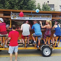Pittsburgh Party Pedaler allows patrons to work up a thirst