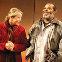 Plane truths: Tasha Lawrence (left) and Ray Anthony Thomas.