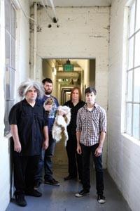 Playing Chicken: Melvins (Buzz Osborne, far left)