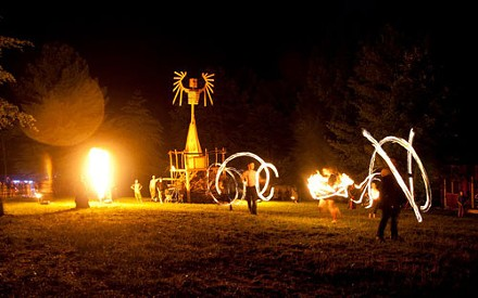 Poi Swirls - COURTESY OF WADE BRASHERS