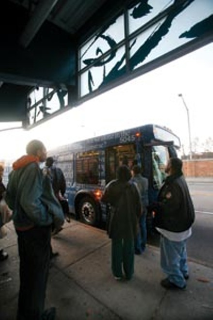 Port Authority buses could stop running Dec. 1. - HEATHER MULL