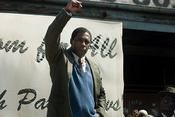 Power play: Idris Elba as Nelson Mandela