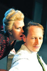 Power plays: Tami Dixon and Leo Marks in PICT's The Hothouse - COURTESY OF SUELLEN FITZSIMMONS