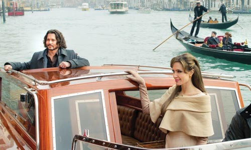 Pretty people, adrift: Johnny Depp and Angelina Jolie