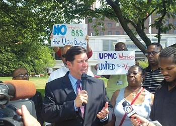 Process Questions: Battle to unionize at UPMC heating up