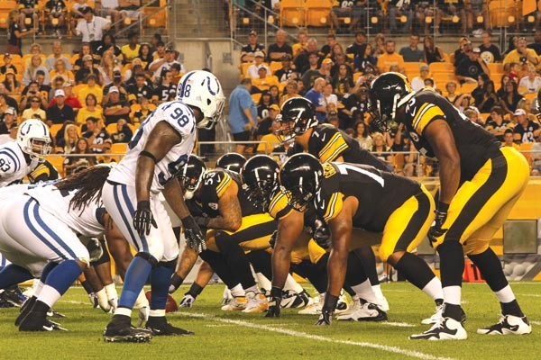 Protection for Ben Roethlisberger will be key to the Steelers' offensive production in 2012.