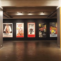 An exhibition of pulp-film posters at the Warhol delights and stupefies.