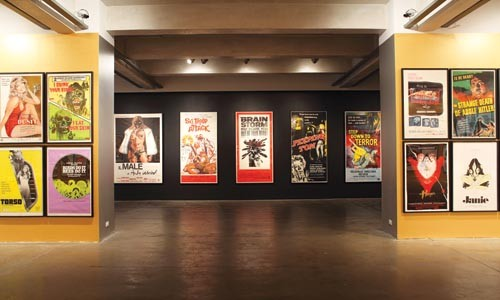 Pulp addiction: Posters from grindhouses gone by compose SuperTrash