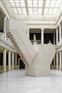 """Rachel Whiteread's """"Untitled (Domestic)"""" (2002), at the Carnegie Museum of Art. - PHOTO COURTESY OF TOM LITTLE."""