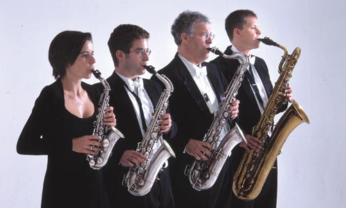 Raschèr Saxophone Quartet - PHOTO: MALCOLM CROWTHERS