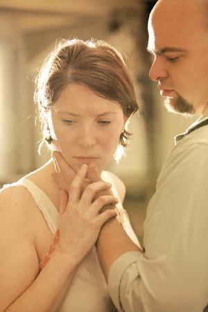 Rebecca Winnica and Carlos Feliciano in Quantum Theatre's Maria de Buenos Aires - PHOTO COURTESY OF HEATHER MULL