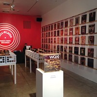 Artist turns vinyl-record collection into interactive installation