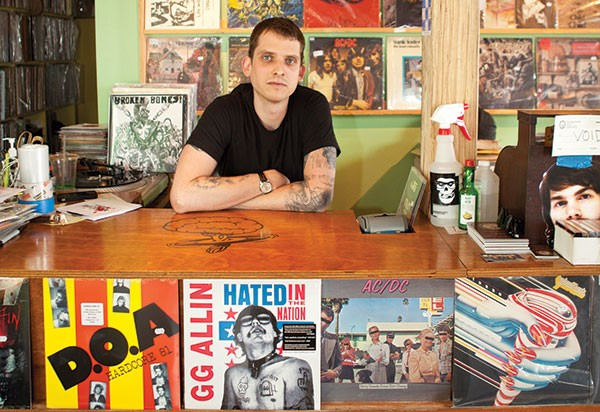 Records with a side of history: Mind Cure' s Mike Seamans