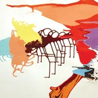 Color Jane Callister's <i>Magic Landscape</i> intensely sensual.