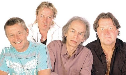 Reheating the moment: Asia's original lineup, featuring Steve Howe (second from left)