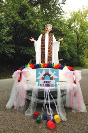 Rev. Renee Waun will be taking a busload of couples to Niagara Falls for a wedding in October. - PHOTO BY HEATHER MULL