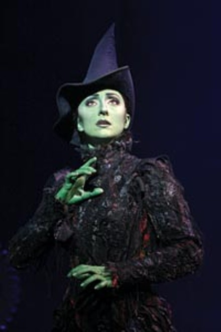 Revis(it)ing Oz: Carmen Cusack in PNC Broadway Across America's Wicked. - PHOTO COURTESY OF JOAN MARCUS.