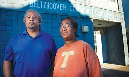 Richard Carrington and Jill Evans say they want answers from the Beltzhoover Neighborhood Council. - BRIAN KALDORF