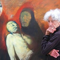 Venerable painter Richard Rappaport discusses five of his works.