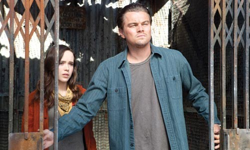 Ride along: Dom (Leonardo DiCaprio) takes Ariadne (Ellen Page) into a dream.