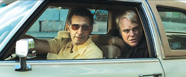 Ride-along: John Turturro and Philip Seymour Hoffman