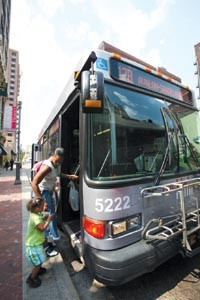 Riders say the loss of several weekend routes, including the 17B, will keep them from getting essential services including health care. - PHOTO BY HEATHER MULL
