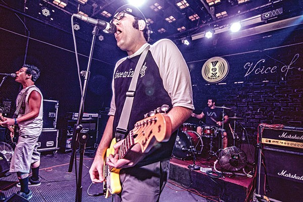 Rishi Bahl of The SpacePimps organized the Four Chord Music Festival.