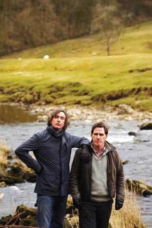 Road-trip buddies: Steve Coogan and Rob Brydon