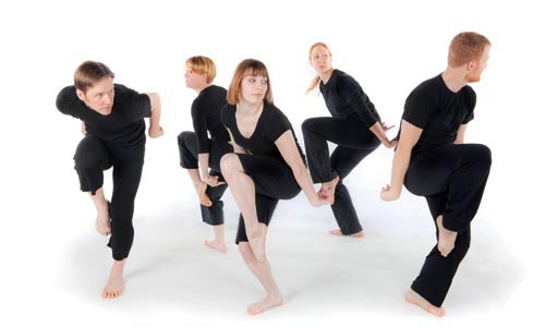 Round-up: Dance Alloy's dancers will be put through their paces in Alloy Unlocked. - RENEE ROSENSTEEL