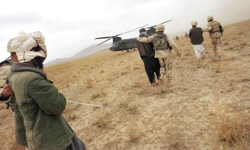 Rounding up the usual suspects in Afghanistan