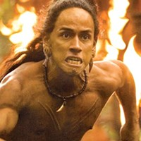 Mel Gibson's bloody <i>Apocalypto</i> argues some empires are better than others.