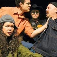Quantum Theatre parties with <i>El Paso Blue</i>.