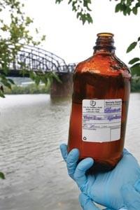 Sample bottle. - HEATHER MULL