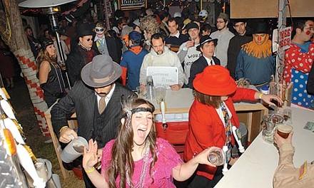 Sample Evaline Industries Halloween party.